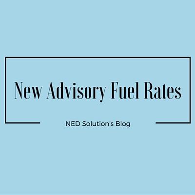 New Advisory Fuel Rates