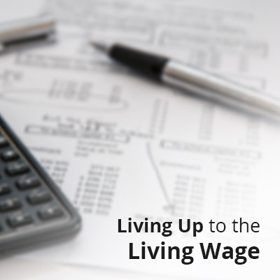 Living Up to the Living Wage