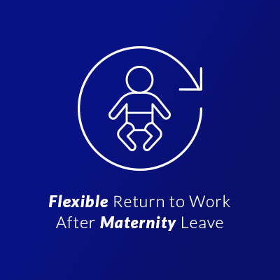 Flexible return to work after maternity leave